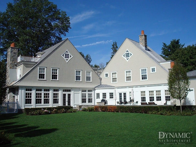 traditional wood double hung windows