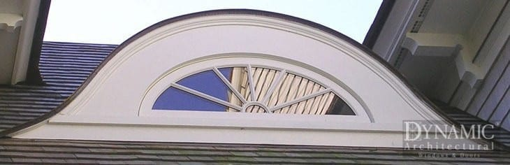 custom wood eyebrow window