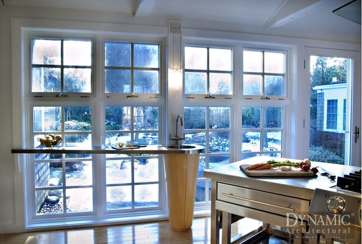 true divided lite wood windows