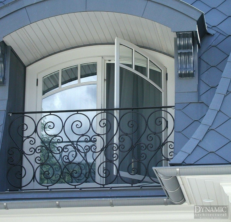 French casement windows photos houzz - Archtop Wood French Casement Windows