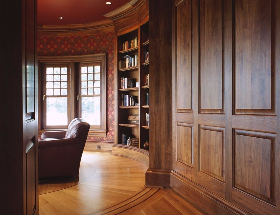 Wood Tilt & Turn Windows in Library