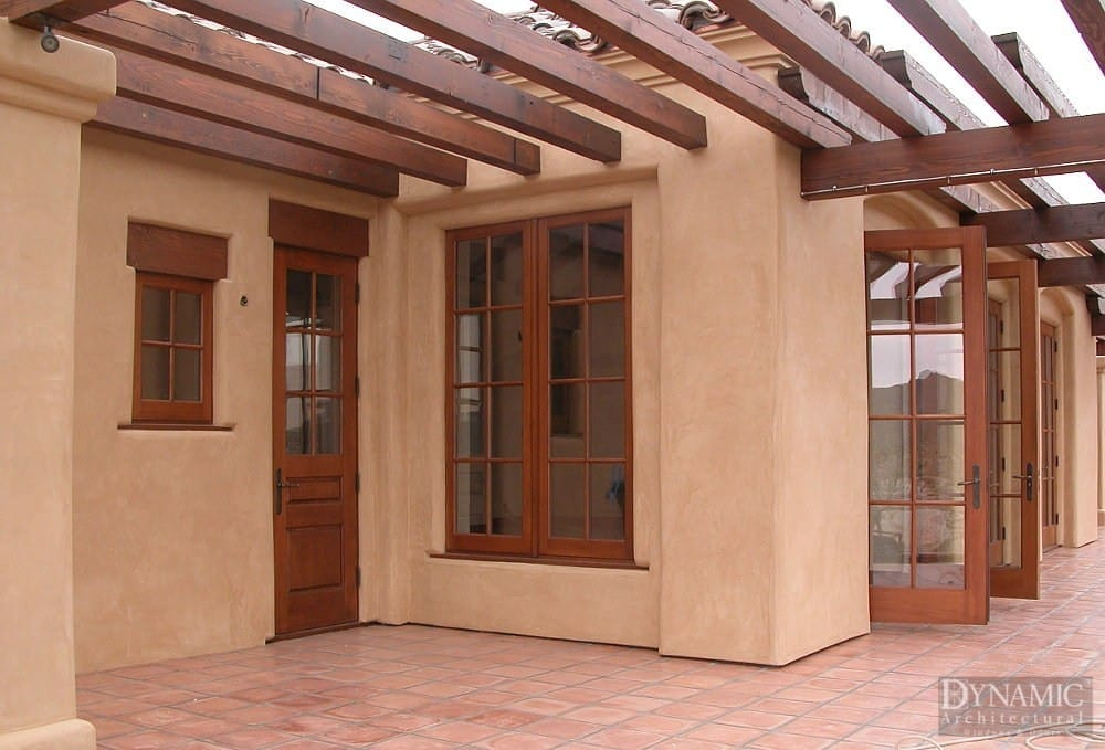 Wood Casement Windows with True Divided Lites