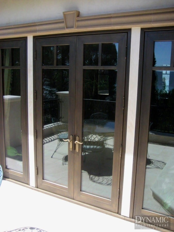 Bronze Clad Doors Dynamic Architectural Windows Amp Doors
