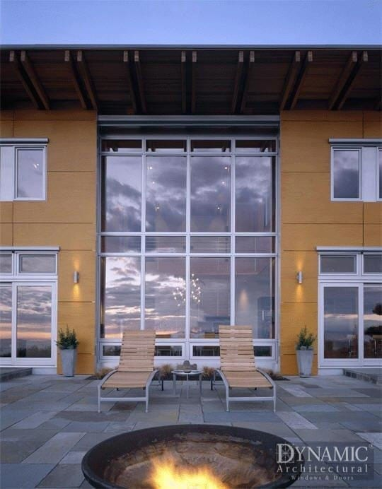 Aluminum Clad Storefront Wood Window