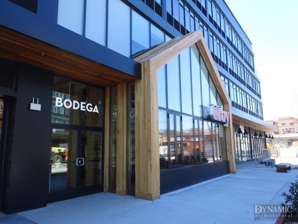 Bodega Boutique Commercial Steel Storefront