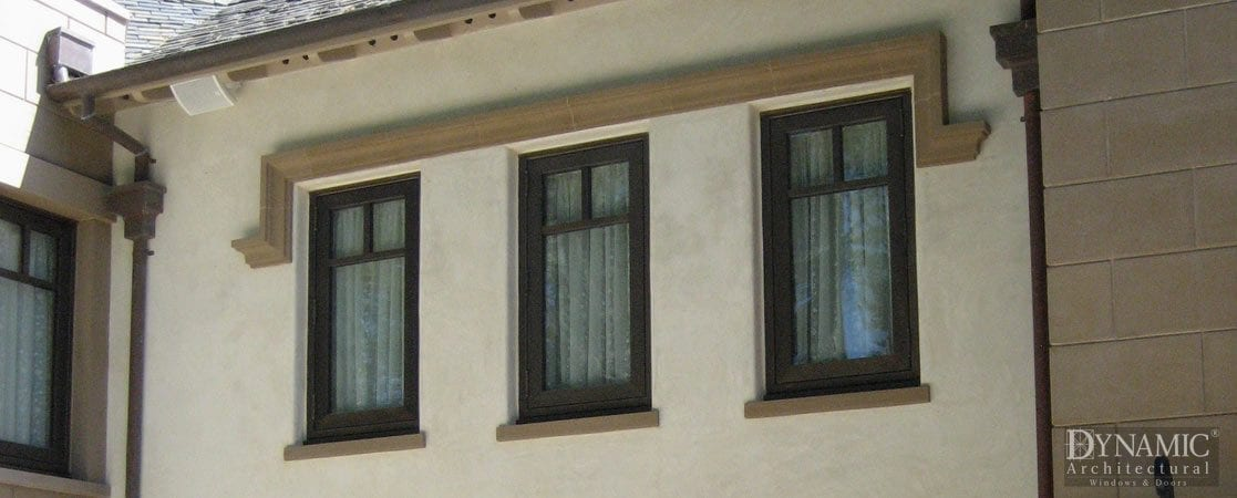 Bronze Clad Casement Windows