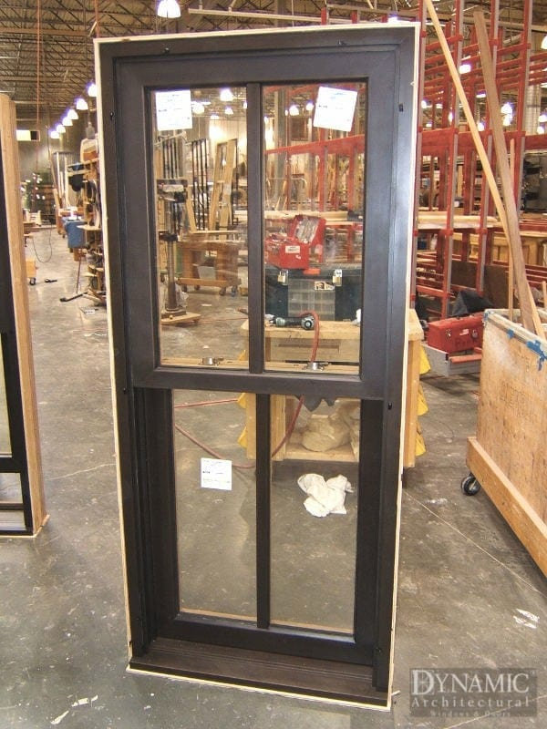 Bronze Clad Double Hung Windows Dynamic Architectural