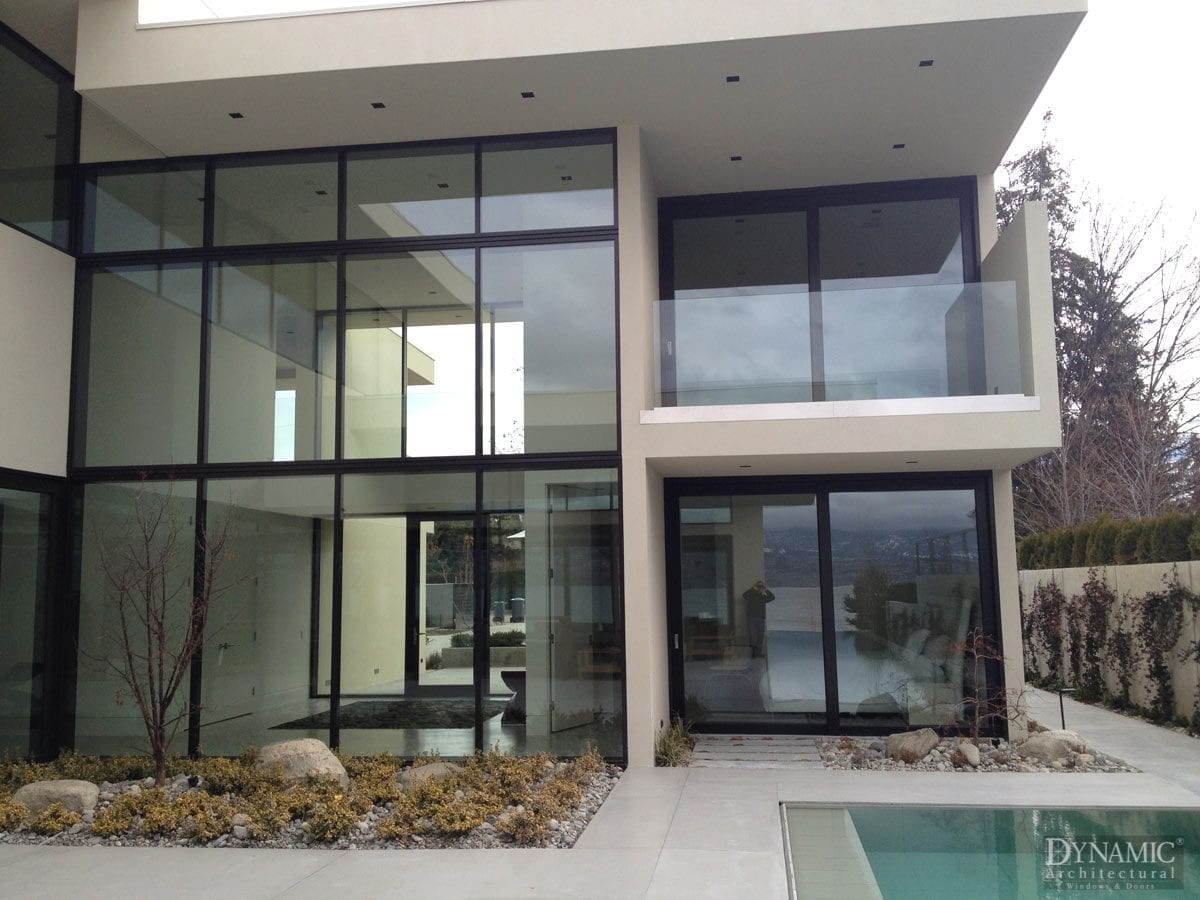 Bronze Clad Storefront Window Dynamic Architectural