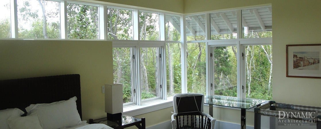 Aluminum Clad Bay Bow Window Dynamic Architectural