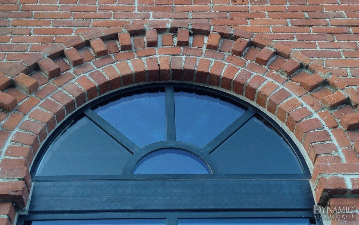 Steel Arched Window