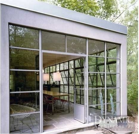 Steel french doors dynamic architectural windows doors for Metal french doors exterior