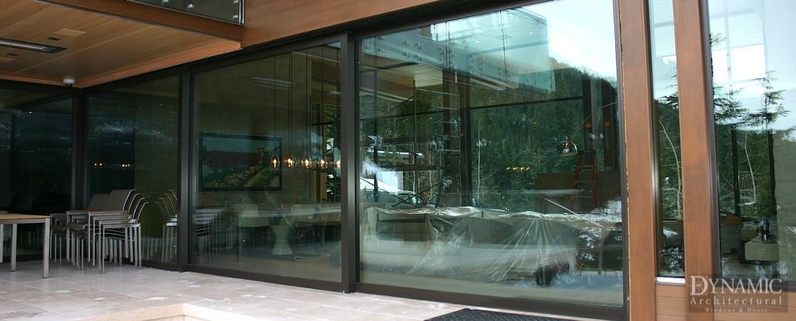 Steel Lift & Slide Doors