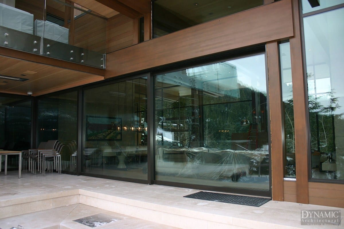 Steel Lift Amp Slide Doors Dynamic Architetural