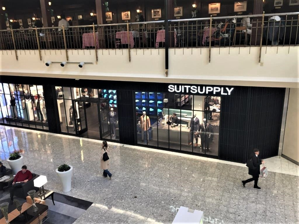 Commercial Steel Windows & Doors - SuitSupply Virginia