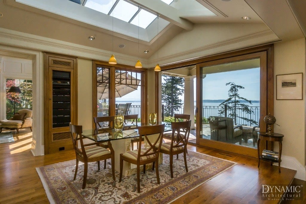 Custom Wood Lift and Slide Door & Wood Lift and Slide Doors | Dynamic Architectural