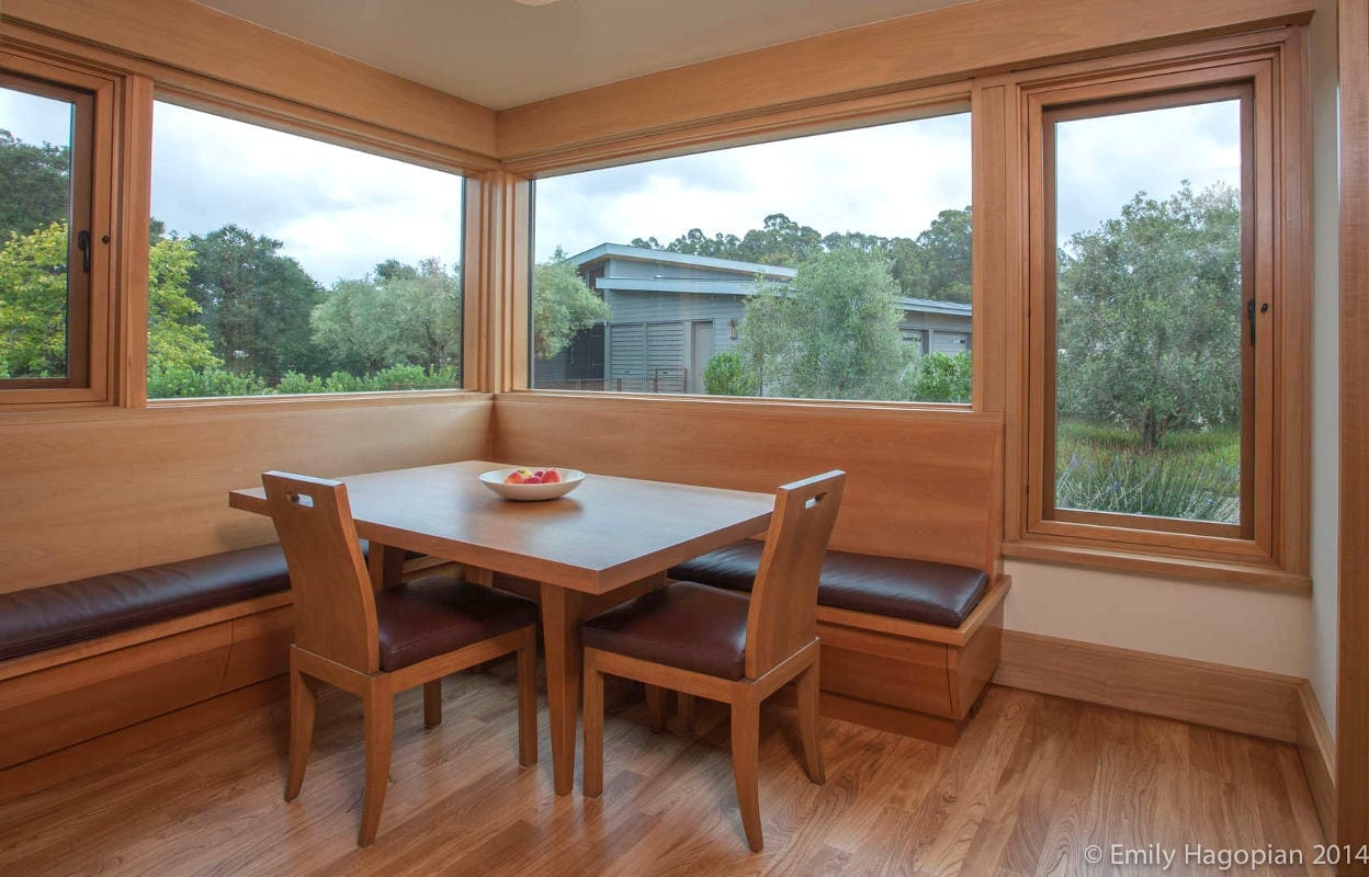 Custom wood windows