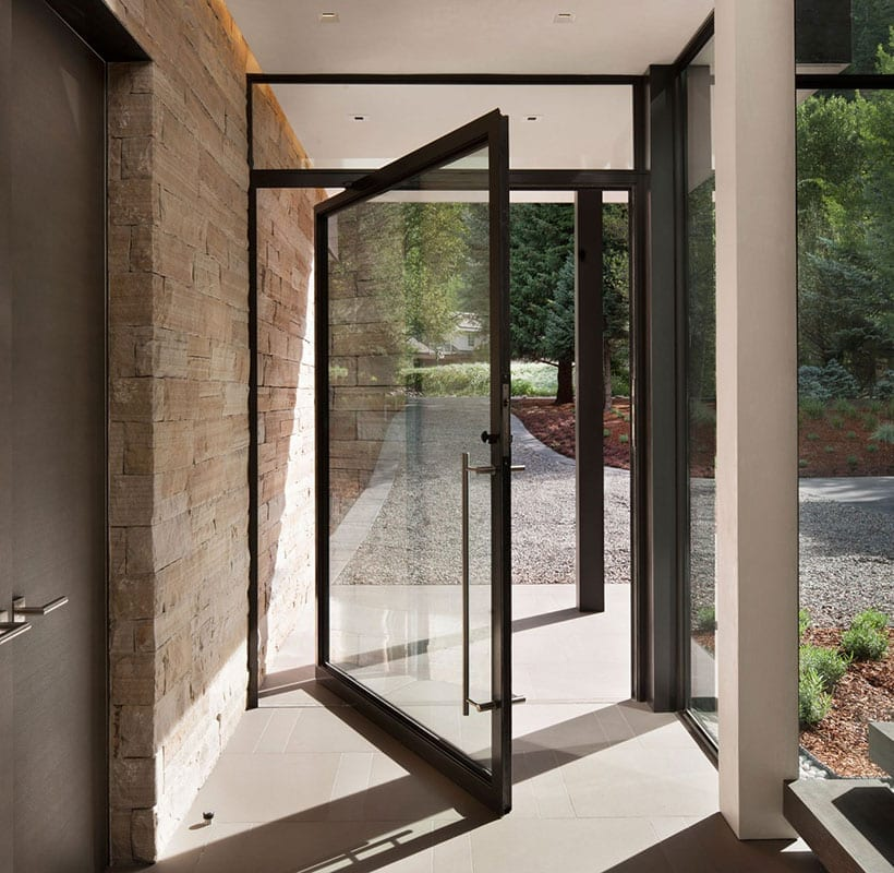 Steel Glass Doors. Steel Pivot Door Glass Doors