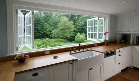 bifolding casement windows with true divided lites