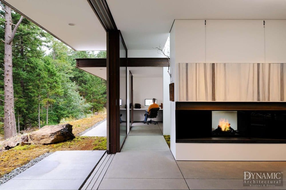 Wood Lift And Slide Doors Dynamic Architectural