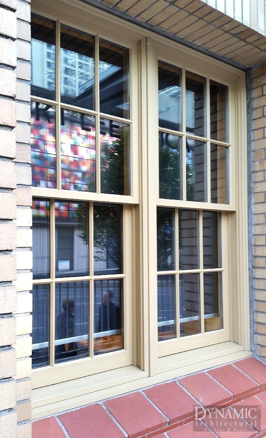 Wood Double Hung Windows Dynamic Architectural Windows
