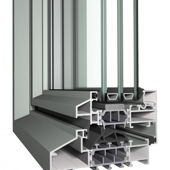 Classic CL38 Reynaers Aluminum Window Profile