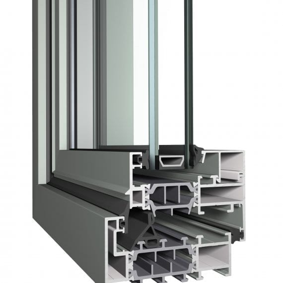 Cubic CL38 Reynaers Aluminum Window Profile