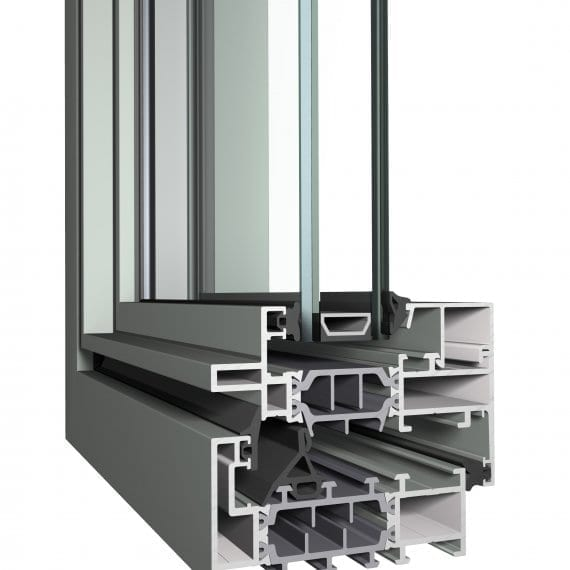 Ferro CL38 Reynaers Aluminum Window Profile