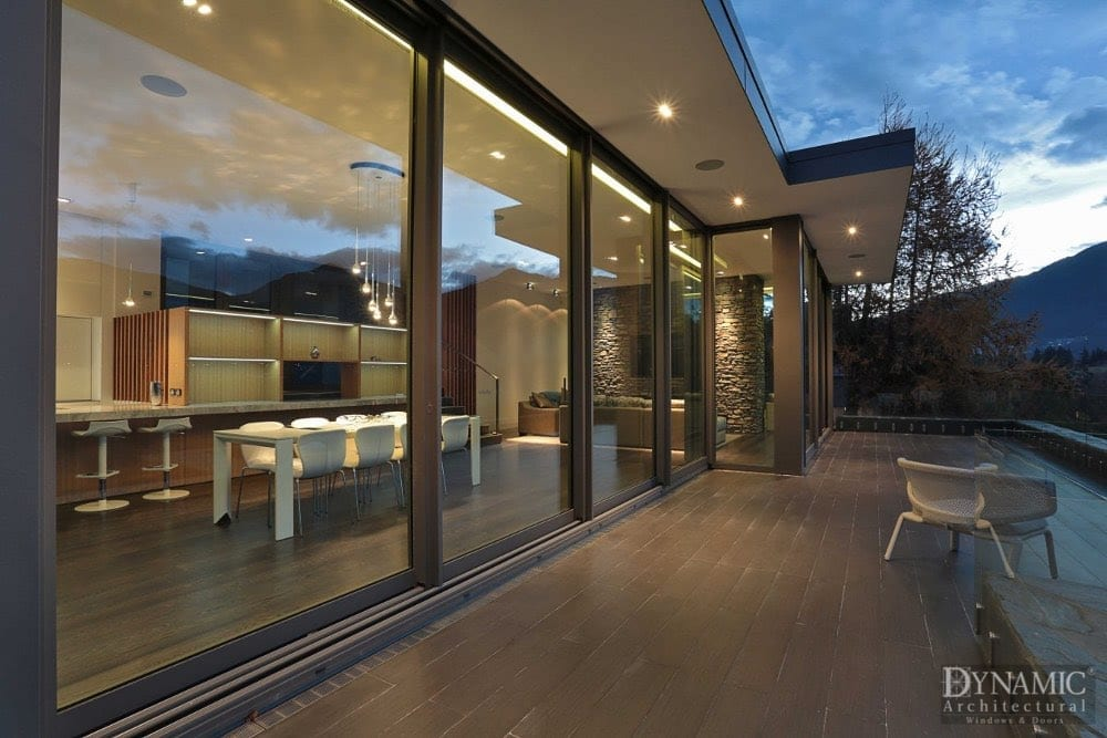 Reynaers Aluminum Lift and Slide Doors
