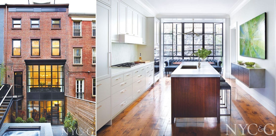 Brooklyn Heights Row House Gets a Bold New Personality - Dynamic ...