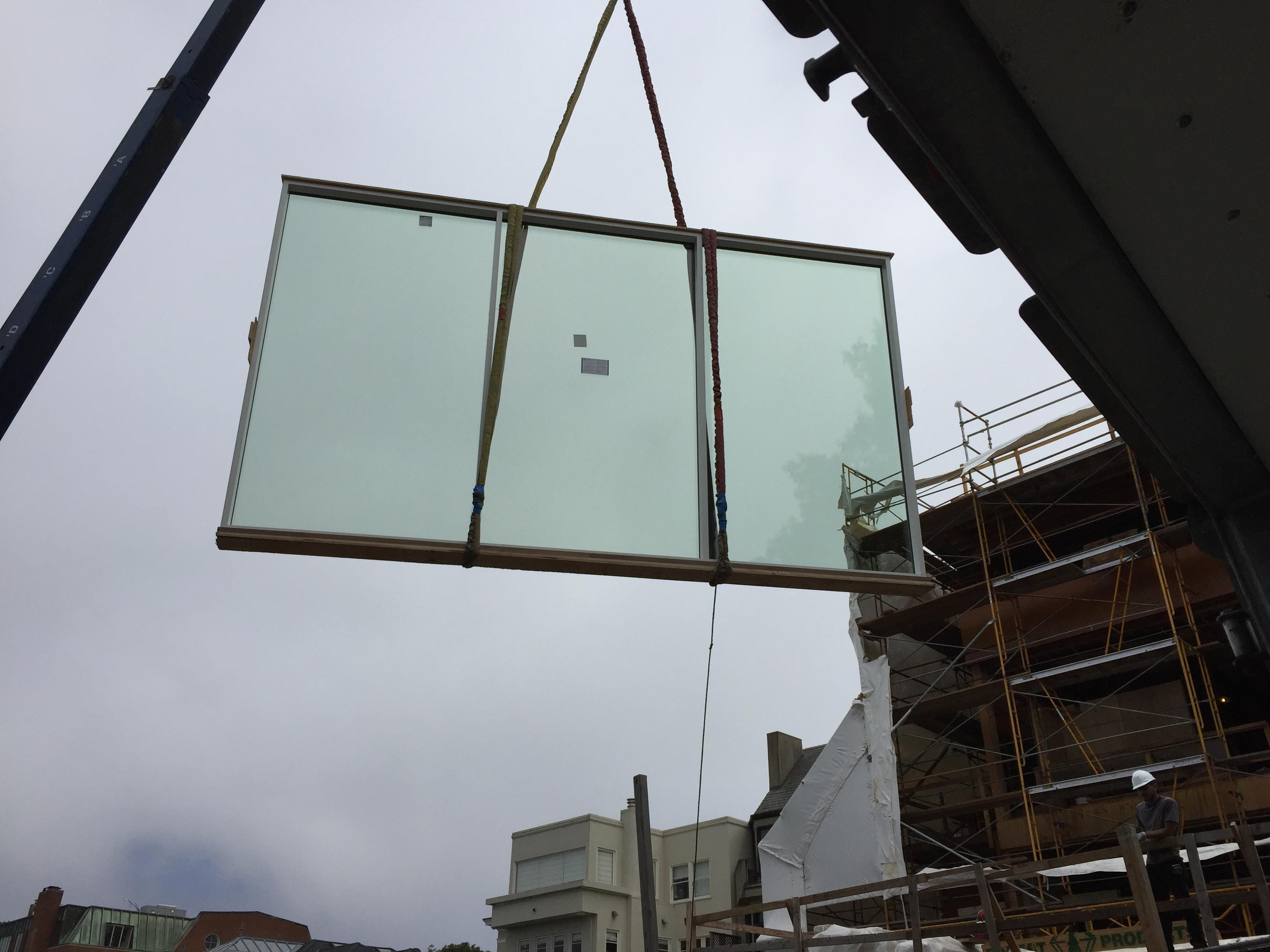 Oversized Architectural Glass project in San Francisco